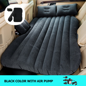 Image 2 - OGLAND Car Air Inflation Travel Bed for Universal Back Seat Mattress Multi functionl Sofa Pillow Outdoor Camping Mat Cushion