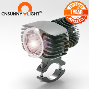 Image 1 - CNSUNNYLIGHT אופנוע LED פנס זרקור 18W 2700Lm סופר בהיר לבן Moto ערפל DRL פנס ציד הנהיגה