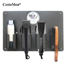 理髪店アクセサリー電気ヘアカッタースタンド理髪ステーションヘアトリマーシェーバーホルダー熱毛切断機スタンド