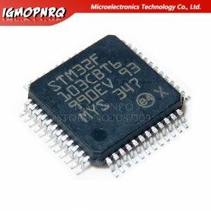 2 шт. STM32F103CBT6 STM32F103CB 32F103CBT6 128KB QFP48 ARM 100% новая Оригинальная гарантия качества