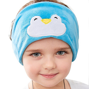 Image 2 - Vococal Auriculares con protección auditiva para niños, diadema para niños, máscara para dormir, escuchar música
