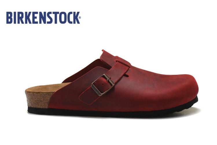 2019 Original NEW Birkenstock Unisex Professional Tokyo Super Grip Leather Slip Resistant Work Shoe Solid Color Size36-45