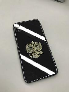 Image 4 - Rusya federasyonu ulusal amblemi arması rusya nikel kartal Metal çıkartmalar çıkartması Laptop Notebook telefon Sticker