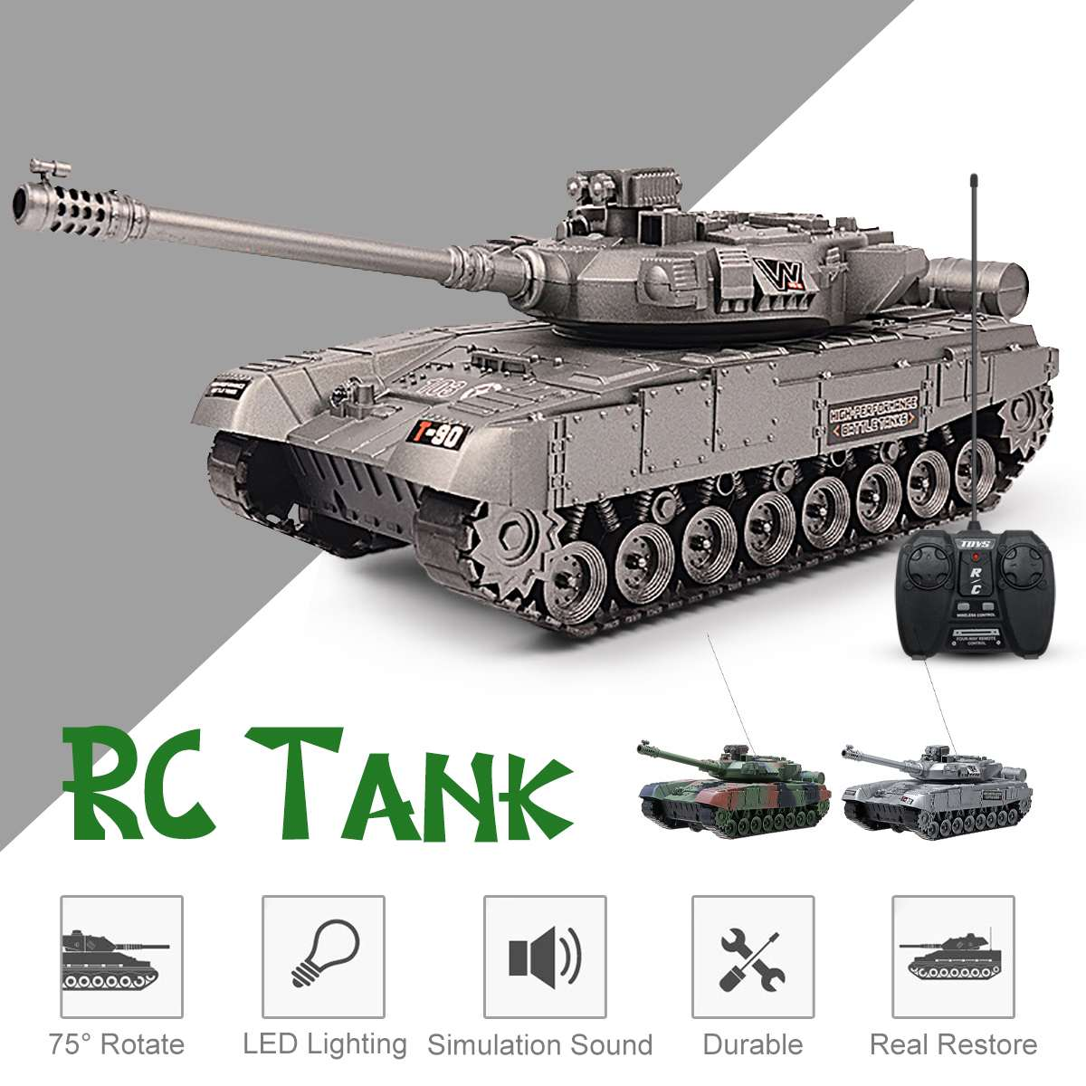 Super RC tank RC car  RC truck charger battle launch tracked remote control vehicle Hobby boy toys for kids children gifts