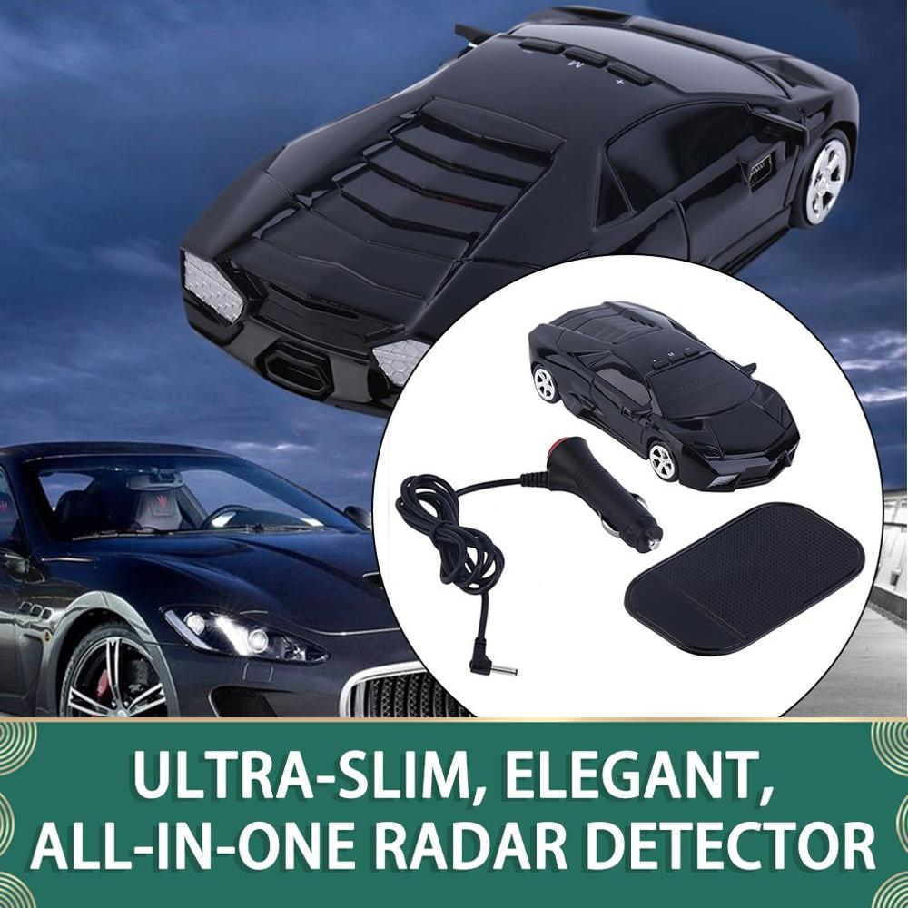 ¡Oferta! Radar de velocidad para coche 360, Detector de protección, detección láser, aviso por voz, negro, Detector de alta calidad para vehículo de coche, negro OkeyTech, Sensor de aparcamiento Parktronic, 4 Sensor de marcha atrás, Detector de Radar, LED Digital, asistencia para aparcamiento de coches, sistema de alarma para todos los coches