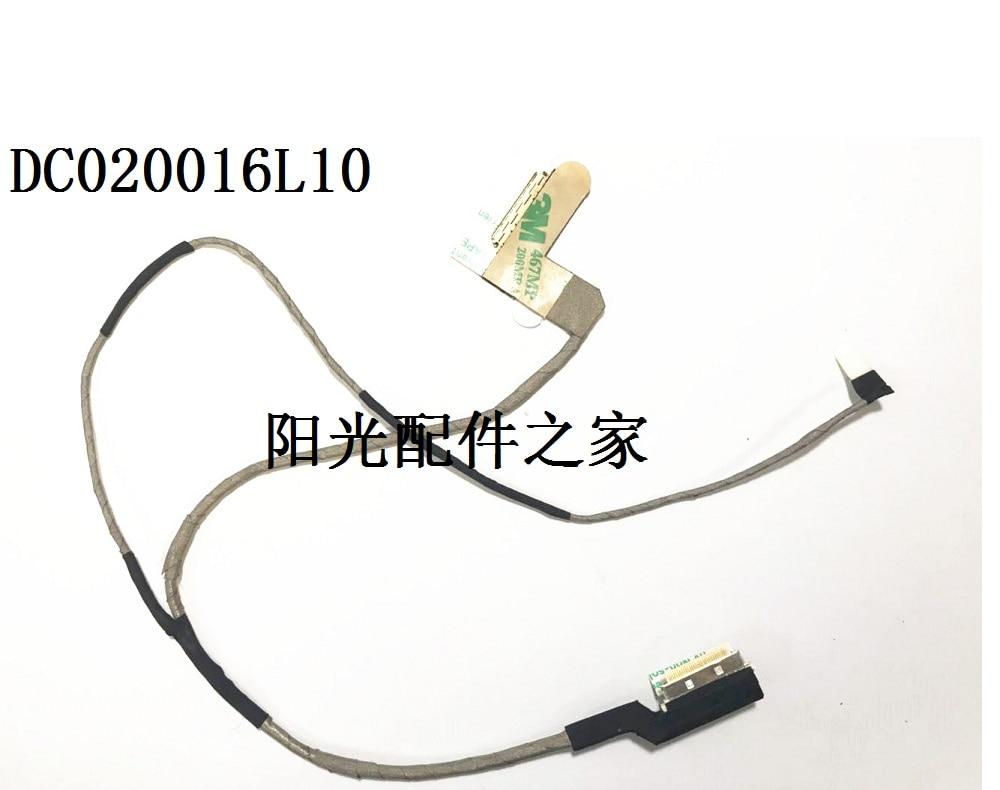New LCD Cable For Toshiba Satellite NB500 NB505 NB520 NB550D NB550 PN DC020016L10 LVDS Screen Display Flex