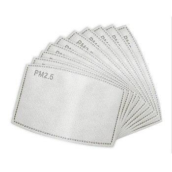 20pcs 30pcs 50pcs 100pcs PM2.5 Filter paper Anti Haze mouth Mask anti dust mask Filter paper Health Care