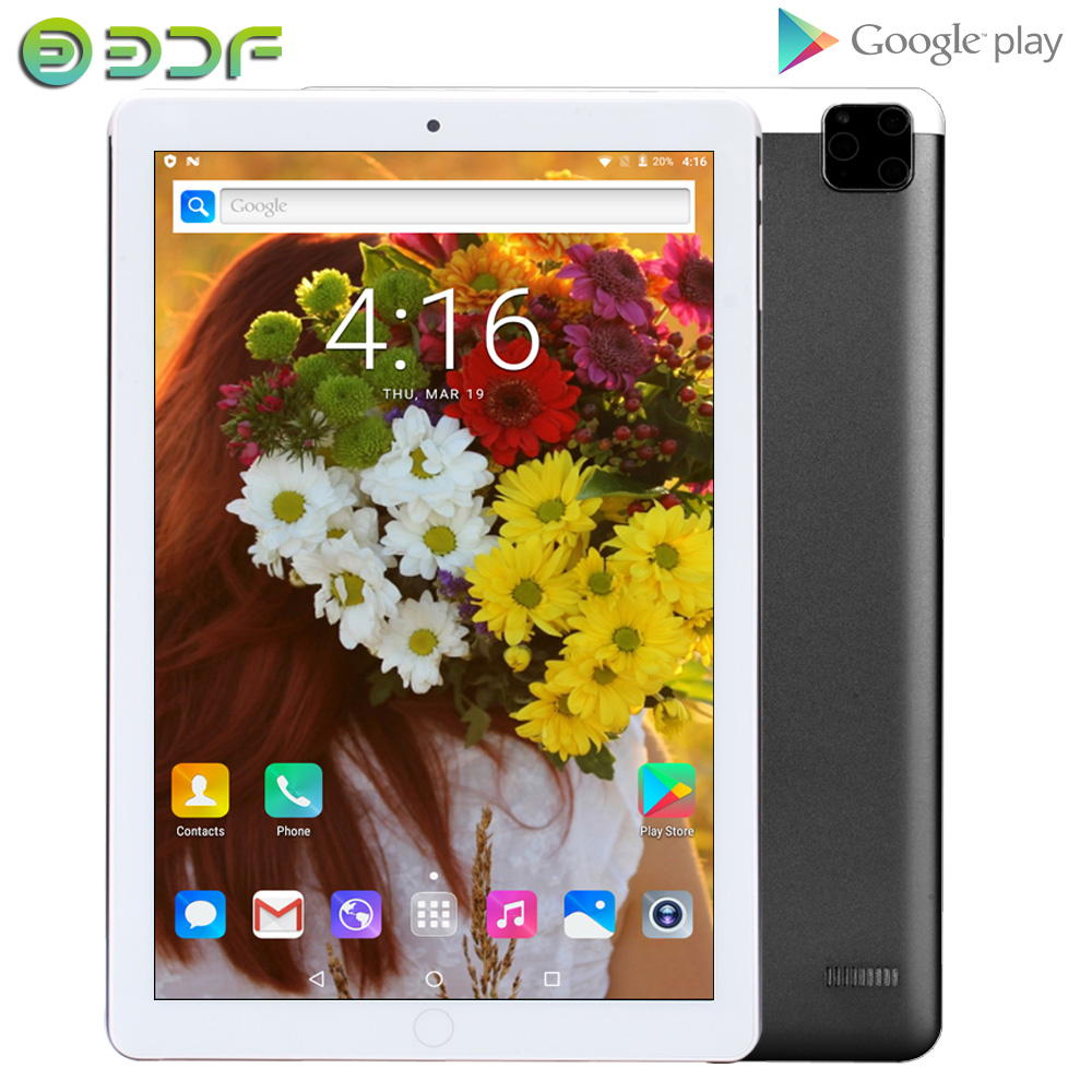 2020 10.1 Inch Tablet Pc Android 7.0 GPS Mobile 2GB RAM 32GB ROM 10 Inch Phablet 3G Phone Call Quad Core IPS Kids Tab Google
