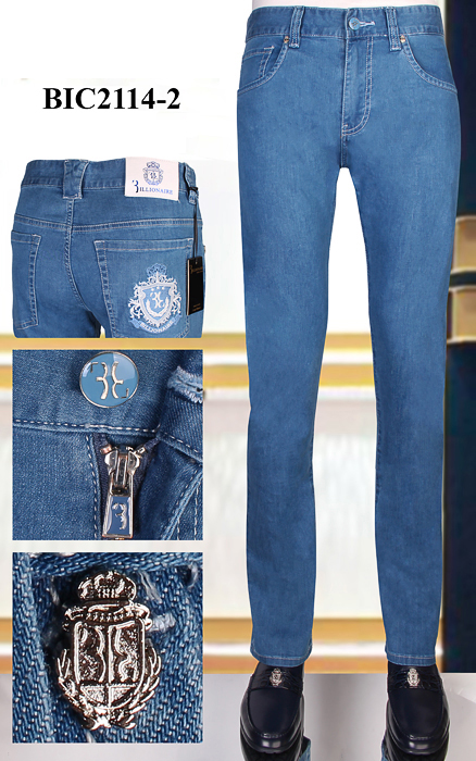 BILLIONAIRE Jeans Men 2020 New Summer Thin Cotton Casual Embroidery Cowhide High Quality Size 31-40 Free Shippng
