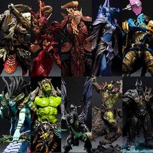 DC WOW Arthas Menethil The Lich King illidan Stormrage Sylvanas vashj Priestess Undead Warlock action Figure model(China)