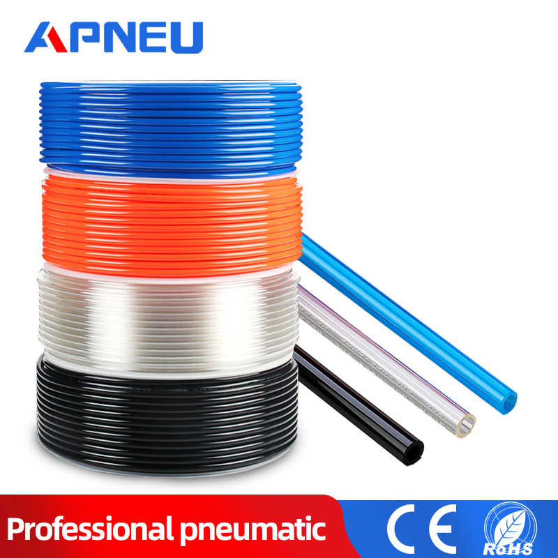 Pneumatic Hose Tubing,4mm OD 2.5mm ID PU Air Hose Pipe Tube,2 Meter,Transparent