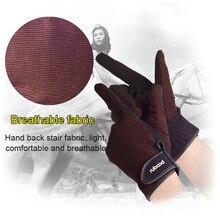 Профессиональные перчатки для верховой езды, перчатки для верховой езды для мужчин и женщин, легкие дышащие, SEC88