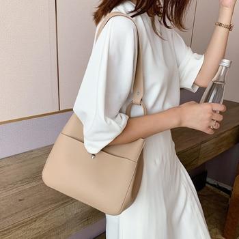 Large Capacity Bucket Bag New Ladies Design Fashion Handbags Women PU Leather Shoulder Messenger Bag Travel Messenger Handbags