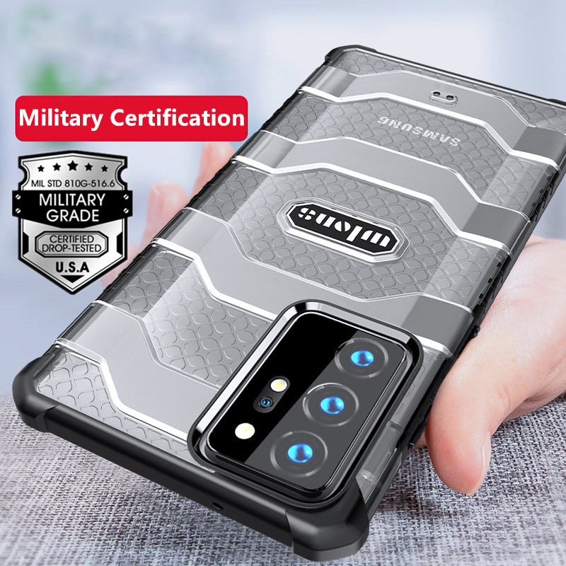 Rugged Armor Heavy Duty Protective Case for Samsung Galaxy Note 20 Ultra