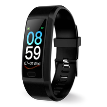 купить Smart Bluetooth Watch IP67 Waterproof Heart Rate Tracker Fitness Bracelet Colorful Screen Blood Pressure Oxygen Wristband в интернет-магазине