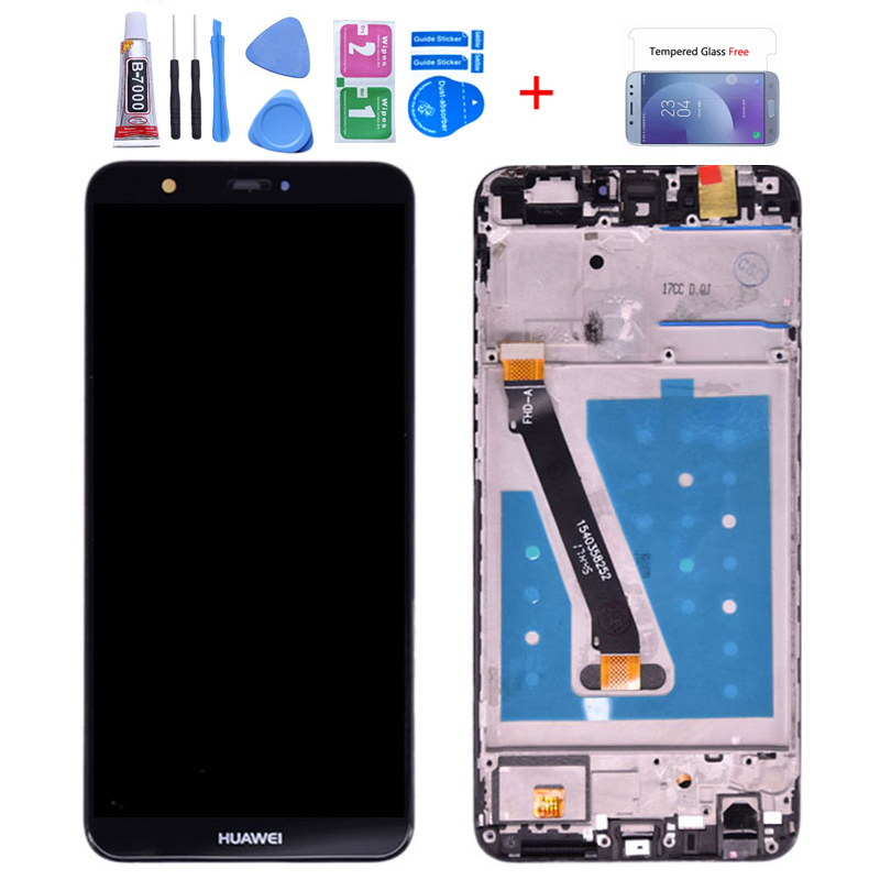 Original For Huawei P Smart LCD Display Touch Screen Digitizer Assembly For Huawei Enjoy 7S  With Frame FIG LA1 LX1 L21 L22 LCD