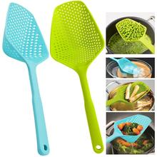 Scoop Colander Strainer Spoon Kitchen Utensil Gadget Food Drain Shovel Strainers Slotted Skimmer Sifter Sieve for Cooking Tool