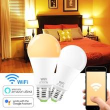 Smart Wifi LED Lamp E27/B22 Remote Control Led Light e27 Bulb Work with Amazon Alexa Echo Google Home Assistant