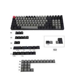 Клавиатура Механическая Dolch Laser Eteched, английская, итальянская, немецкая, испанская, ISO, русская, OEM профиль, толстая клавиатура PBT для MX, 84, 96, 104, ...
