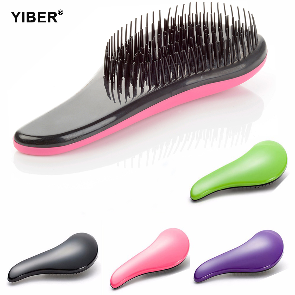 Anti-static Hair Brush Comb Magic Handle Detangling Comb Shower Hair Brush Massage Combs For Salon Styling Women Girls Hair Tool