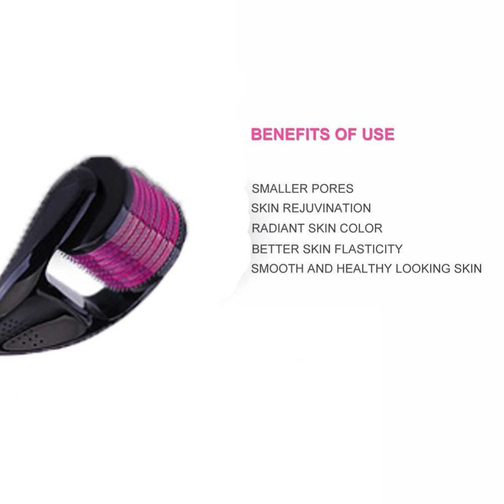 DRS 540 Derma silindir 0.3mm iğneler titanyum Mezoroller Dr kalem makinesi cilt bakımı için saç dökülmesi tedavisi kalem dermaroller