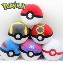 Takara Tomy Pokemon Pokeball высокое качество милые 12 см Плюшевые игрушки мультфильм аниме мягкие куклы детский подарок на день рождения Рождество