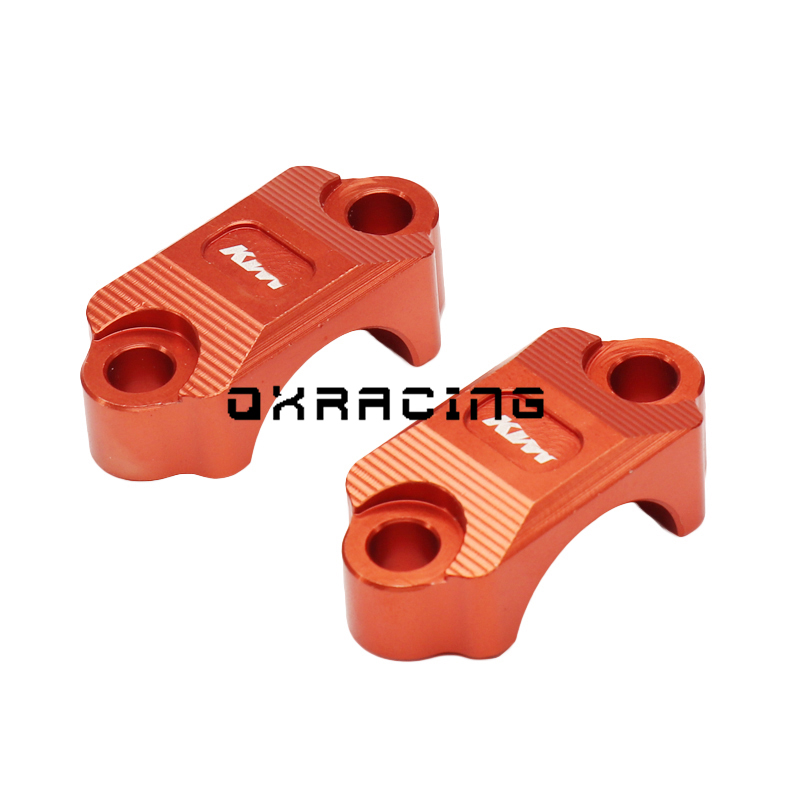1 Pair CNC Billet Brake Clutch Control Clamp For KTM 65 85 125 200 250 300 350 450 500 525 530 SX SXF XC XCW XCF EXC EXCF EXCR
