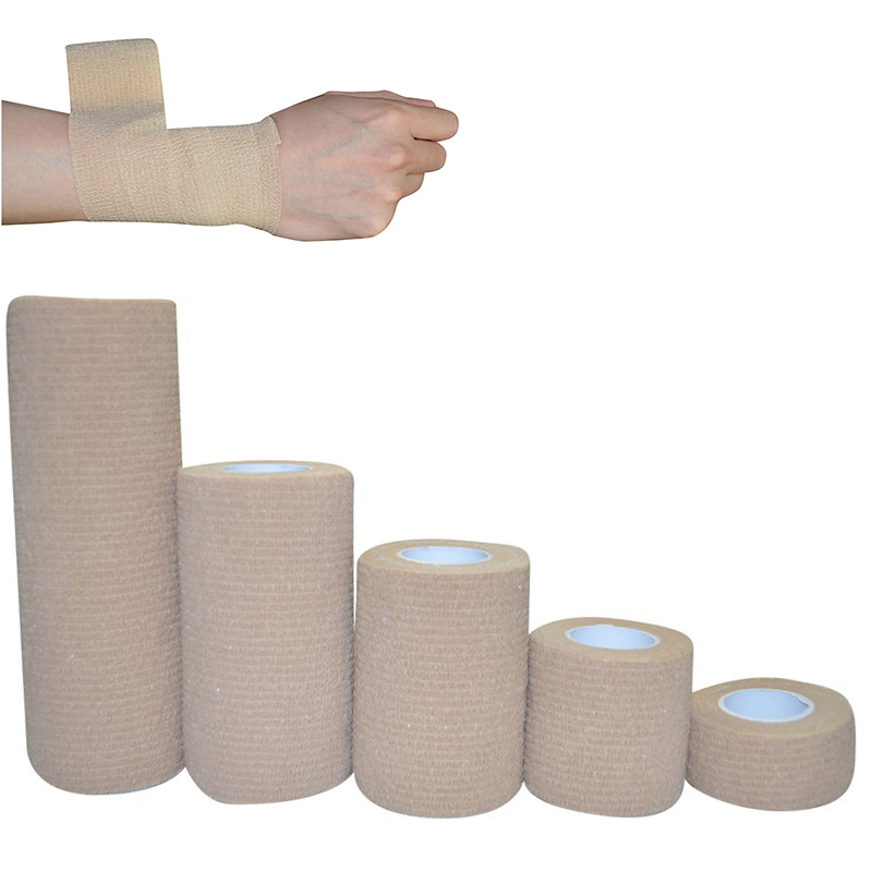 1Pc Disposable Non-woven Cohesive Self Adhesive First Aid Wrap Waterproof Elastic Bandage