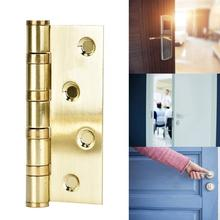 2Pcs/set Bearing Hinge Thickening Polished Stainless Steel Door for  Interior hinges antique