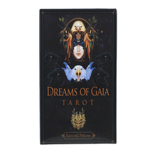Oracle Dreams of Gaia Tarot Card Board Deck Games Palying Cards For Party Game