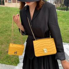 Модная мини сумка с каменным узором из искусственной кожи сумки