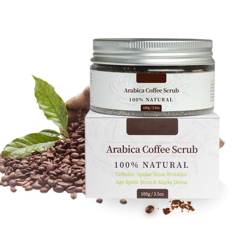Anti-cellulite Skin Care Scrub Cream Natural Body Care Coconut Oil Scrub Exfoliating Whitening Moisturizing