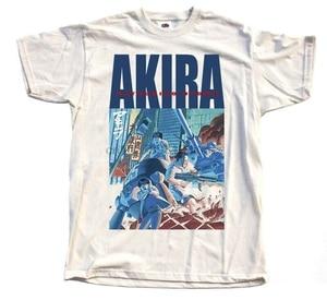 Akira 1988 Natural T-Shirt V7 Manga K.Otomo Tokyo 100% Cotton Sizes S 5Xl(China)