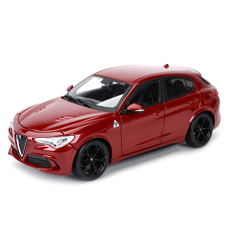 Bburago 1:24 Alfa Romeo Stelvio SUV Car Static Simulation Diecast Alloy Model Car