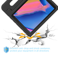 case samsung galaxy For Samsung Galaxy Tab A 8.0 2019 T290 T295 Tablet Case EVA Shockproof Portable Handle Protective Stand Cover Protection Case (5)