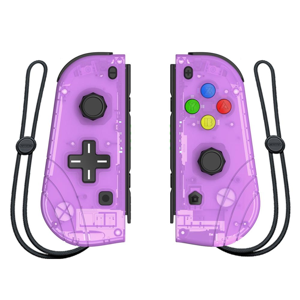NEW Wireless Controller for Nintendo Switch Joy Cons Joy Cons 2 vibration six axis somatosensory function one click wake up game|Gamepads| |  - title=