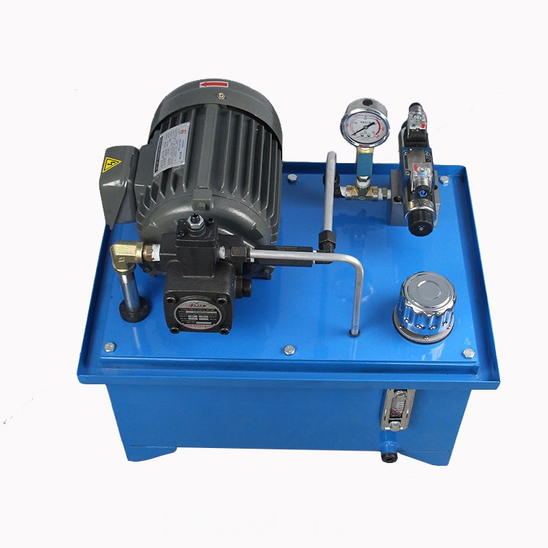 0.75kw single circuit hydraulic station for micro power unit Hydraulic system hydraulic oil tank hydraulic pump station