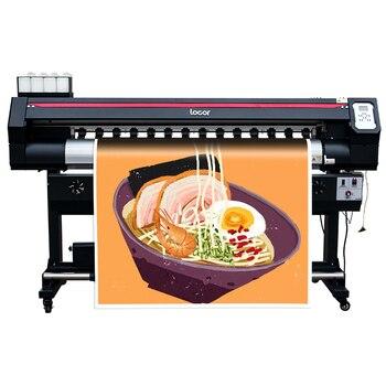 Gran máquina de impresión de 160CM gran foto plotter de alta resolución entrega gratis precio asequible impresora a color