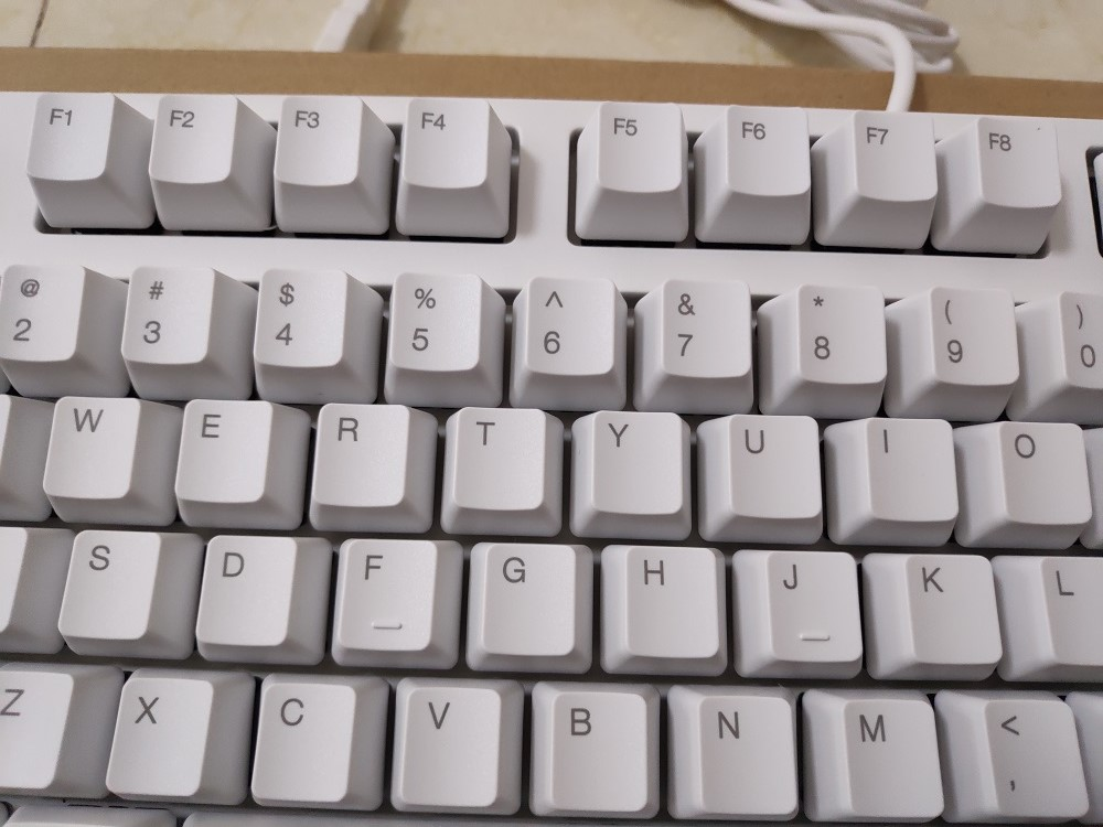 IKBC C87 TKL mechanical keyboard tenkeyless C87 PBT keycap cherry mx silver switch  brown  speed  non-backlit gaming keyboard
