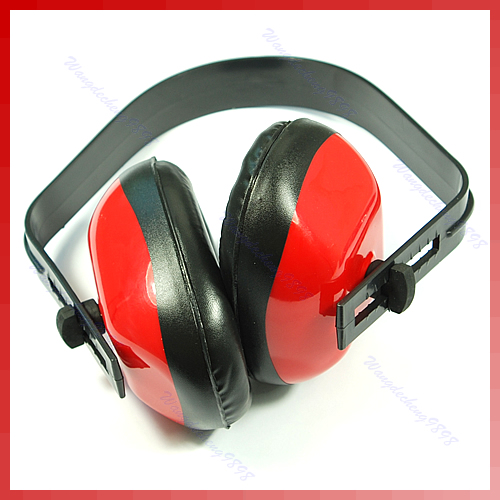 New Sell Ear Muff Muffler Noise Hearing Protector  Adjustable LX9E
