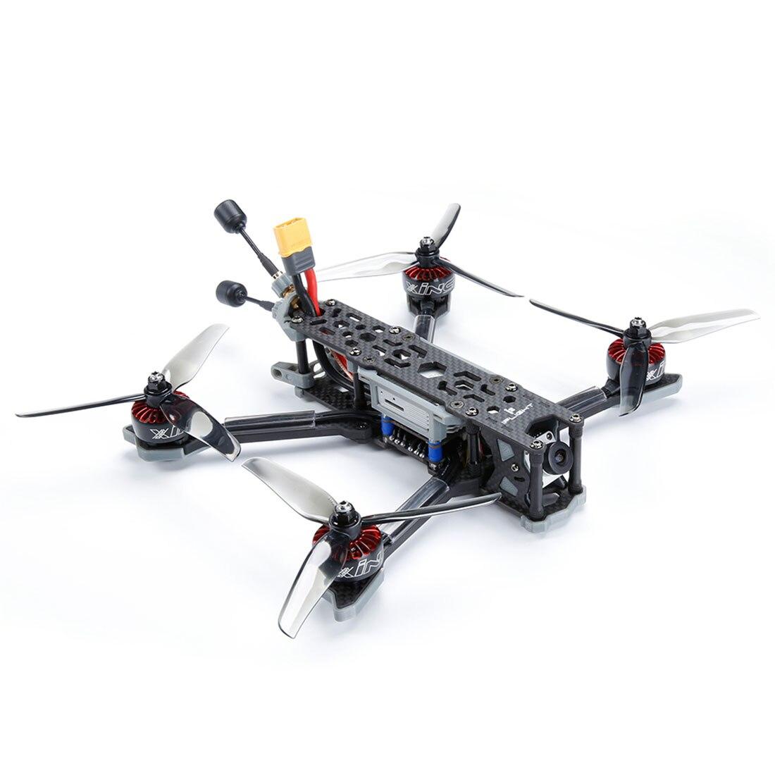 IFlight TITAN DC5 5 дюймов 222 мм 4S/6s HD FPV гоночный Дрон BNF SucceX D F7 50A стек XING E 2207/2450 кв мотор от вертолета игрушка - 3