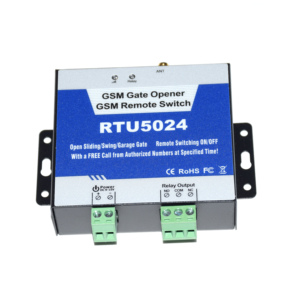 Image 2 - GSM 2G 3G gate opener GSM remote control ON/OFF relay switch RTU5024 for sliding swing garage shutter gate door opener