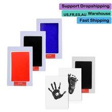Clay-Toy Imprint-Kit Hand-Inkpad Newborn Care Souvenirs-Casting Parent-Child Watermark