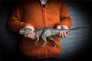 Image 1 - IN STOCK! Nanmu 1:35 Scale Bereserker Rex Dinosaur Model Figure Collector Decor Gift With Original Box Plastic Crafts