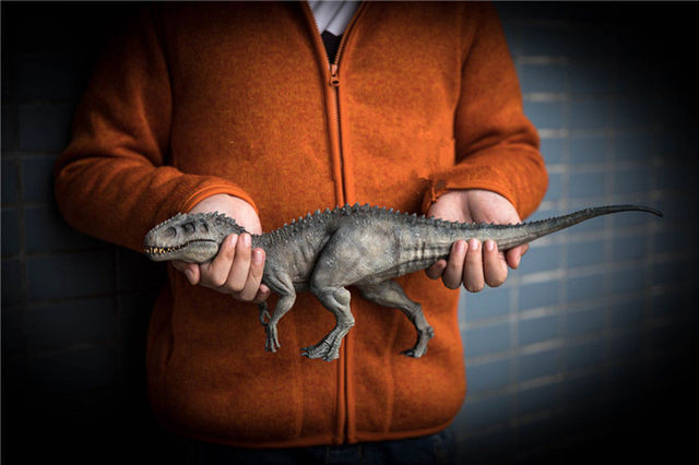 W magazynie! Nanmu 1:35 skala Bereserker Rex Model dinozaura rysunek kolekcjonerski wystrój prezent z oryginalnym pudełku z tworzywa sztucznego rzemiosła