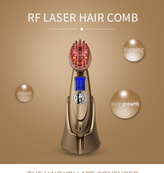 Best seller 2019 rechargeable laser comb for hair growth electric hair regrowth scalp stimulator for women and men