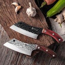 Кухонный нож для мяса с большими костями, острый нож для измельчения костной рыбы, Профессиональный кухонный нож для резки и резки