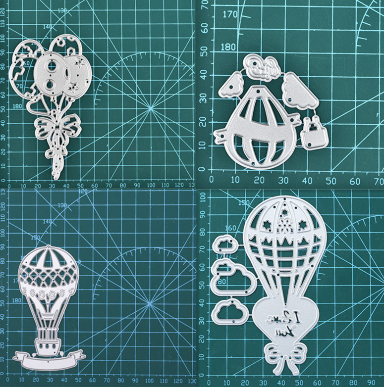 2020 Christmas Metal Cutting Dies Scrapbooking Paper Card Embossing Stencil Mold