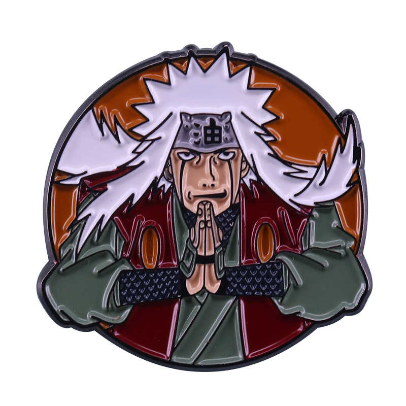 Naruto Jiraiya Badge Japan Anime Fans Decor