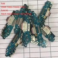 Usb original carregamento doca porto conector flex para samsung galaxy fold 5g f900f f900u f900n f907f f907u f907u f907w f907n